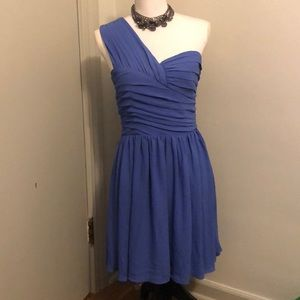 Express Womens One Shoulder Dress Size 8 Medium